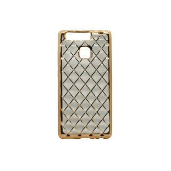 Θήκη Σιλικόνης για Huawei P9 Χρυσό