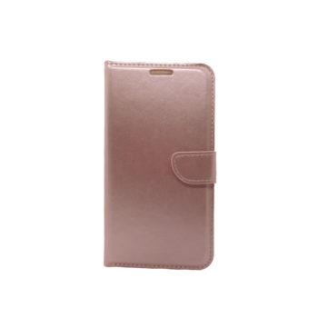 Thiki Portofoli gia Samsung Galaxy A41 Roz-chryso