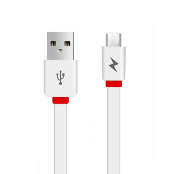 awei-flat-usb-to-micro-usb-cable-λευκό-1m-cl-950