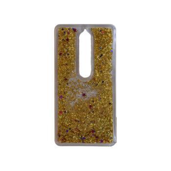 θήκη-mε-υγρή-χρυσόσκονη-για-nokia-6-1-2018-χρυσό