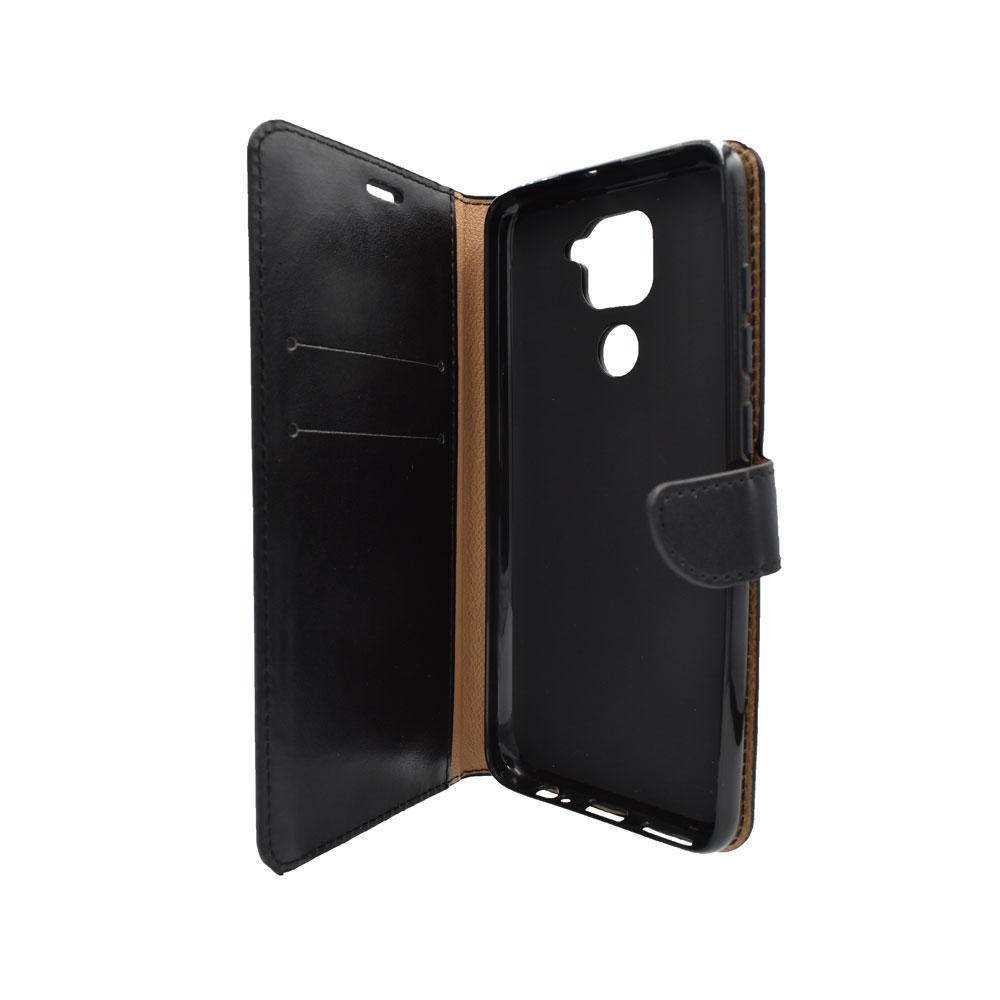 Thiki Portofoli gia Xiaomi Redmi Note 9 Mavro