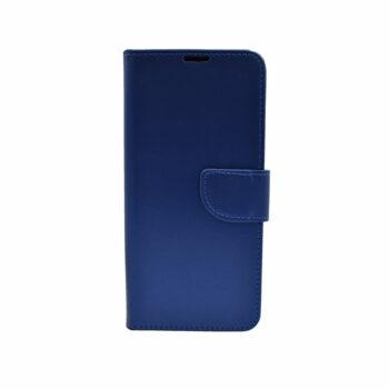 Thiki Portofoli gia Xiaomi Redmi Note 8 Skouro Ble